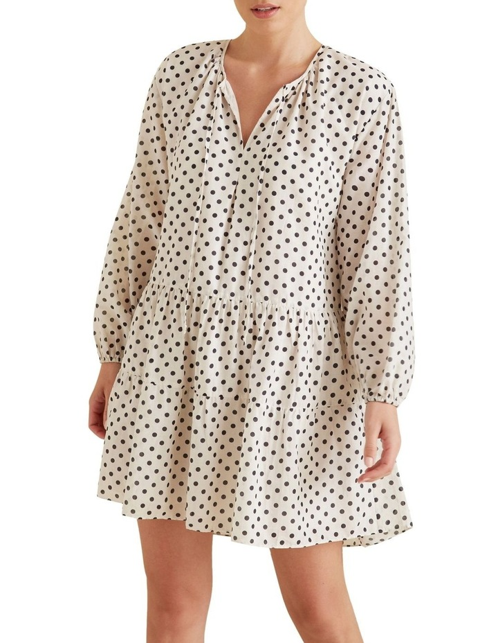 Spotty Tiered Dress image 1