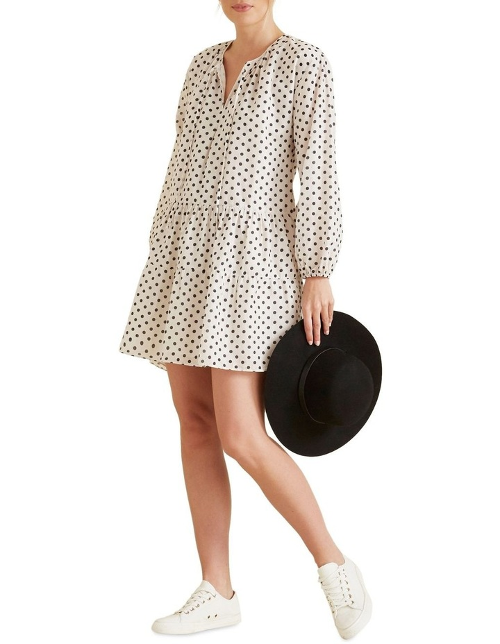Spotty Tiered Dress image 2
