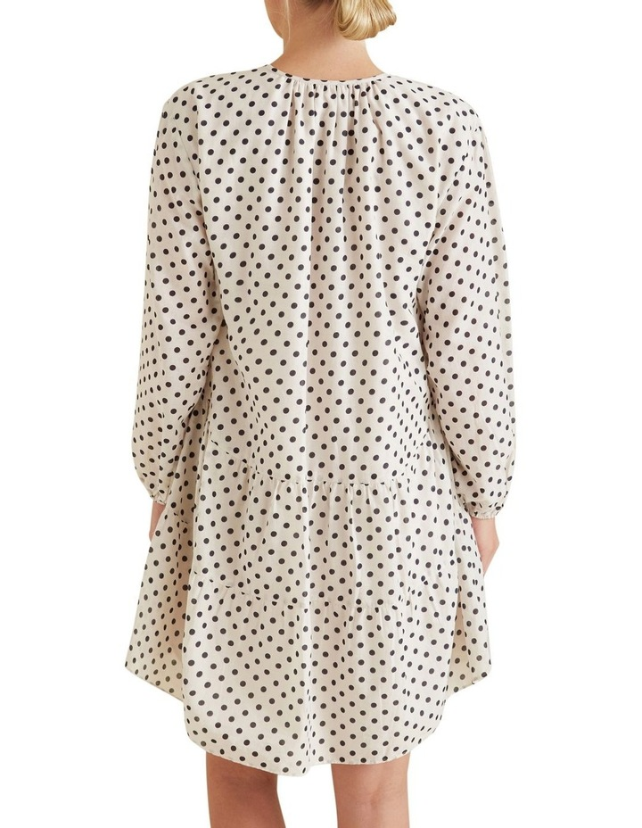 Spotty Tiered Dress image 3