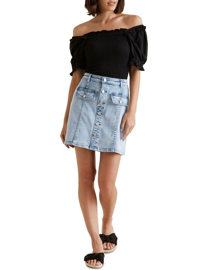 Button Front Mini Skirt image 2
