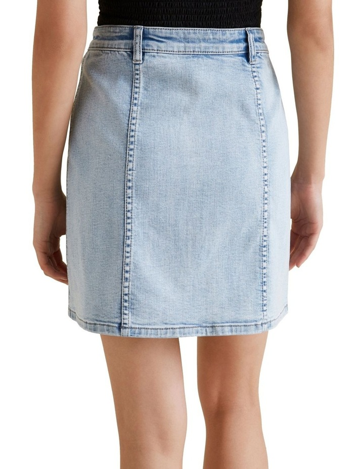 Button Front Mini Skirt image 3