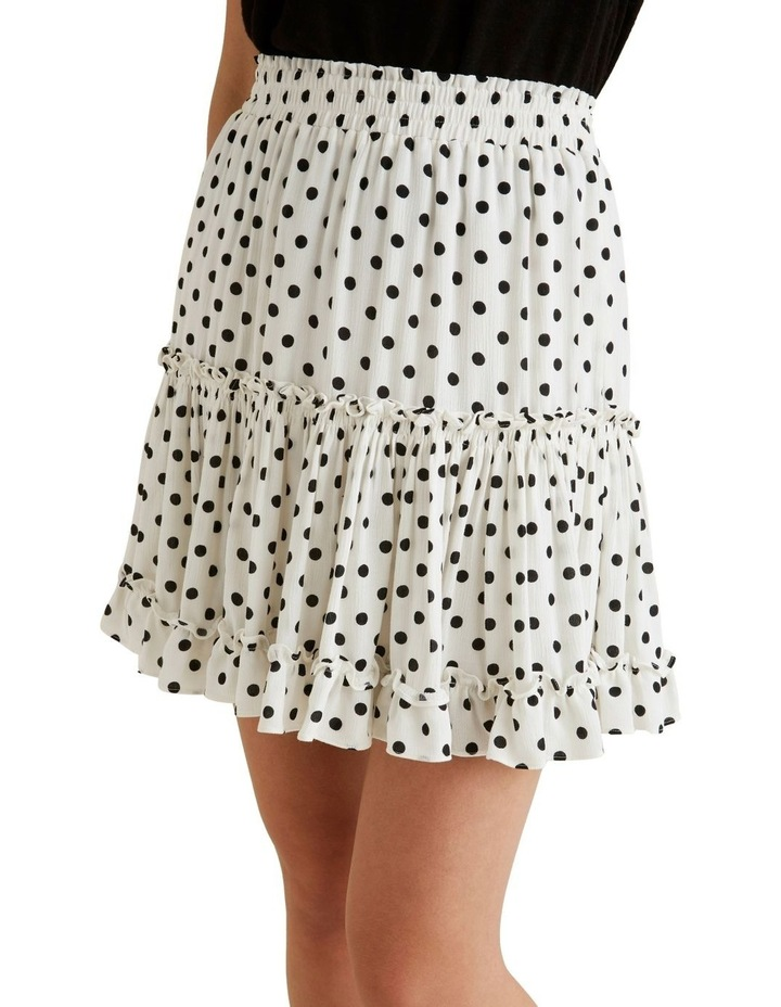 Crinkle Spot Mini Skirt image 1