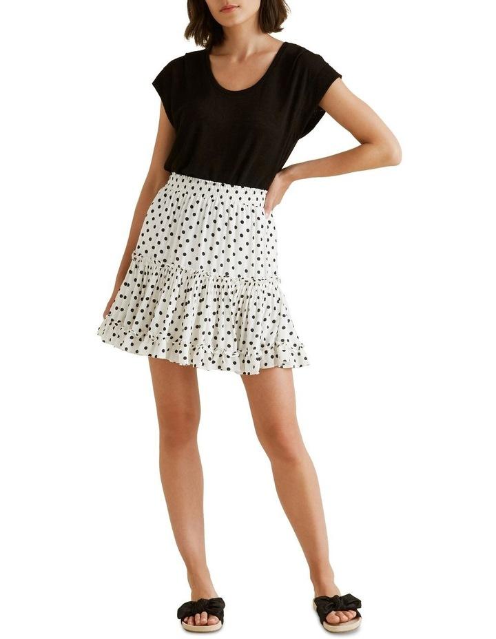 Crinkle Spot Mini Skirt image 2