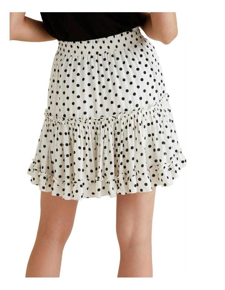 Crinkle Spot Mini Skirt image 3