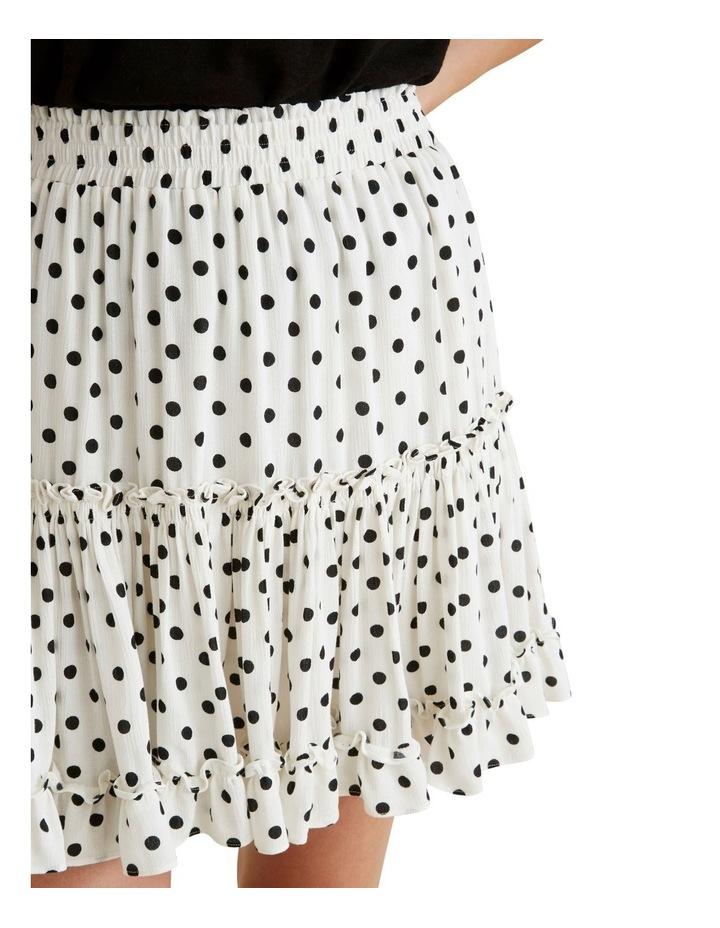 Crinkle Spot Mini Skirt image 4