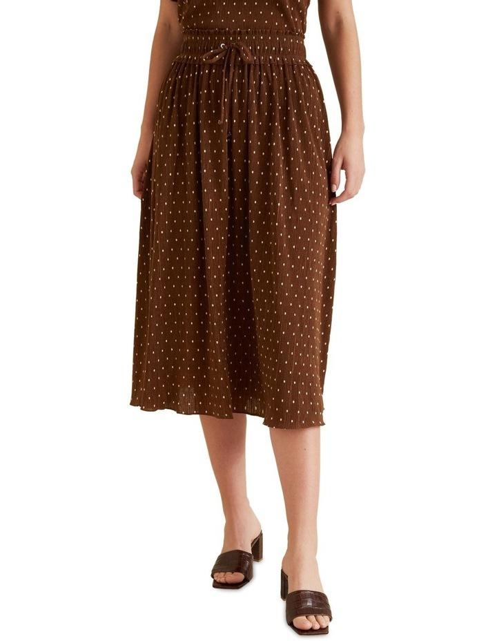 Micro Pleat Spot Skirt image 1