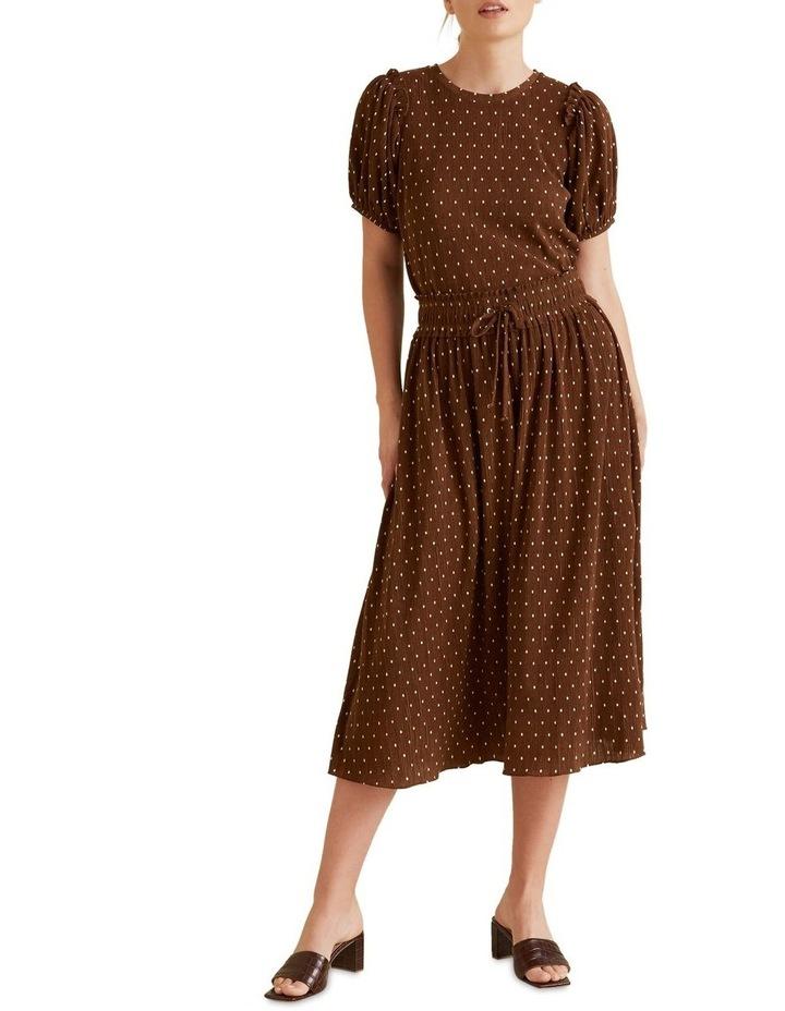 Micro Pleat Spot Skirt image 2