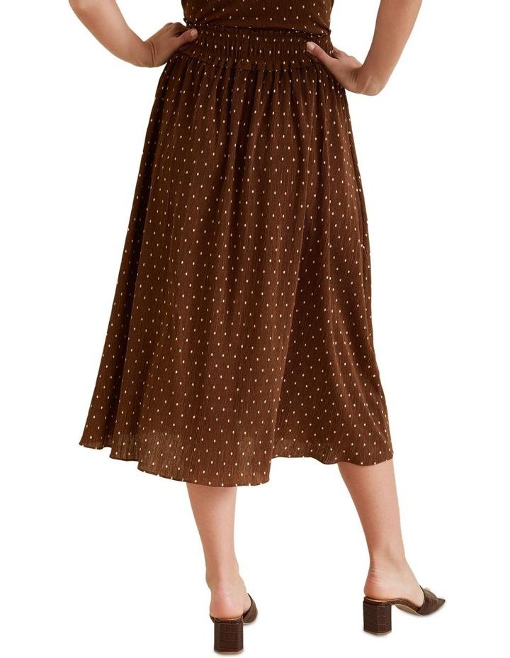 Micro Pleat Spot Skirt image 3