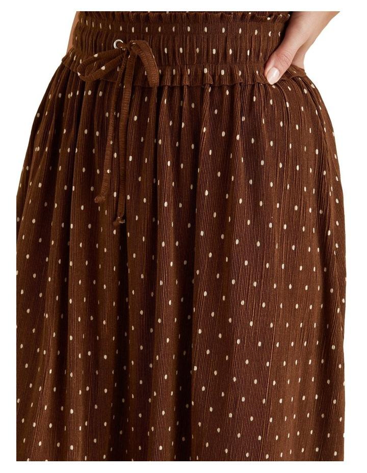 Micro Pleat Spot Skirt image 4