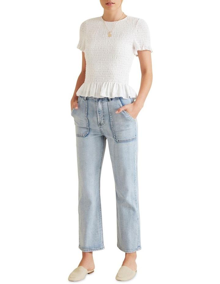 Patch Pocket Jean image 2