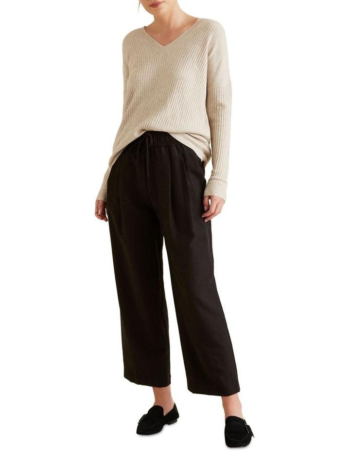 Wide Leg Drawstring Pant image 2