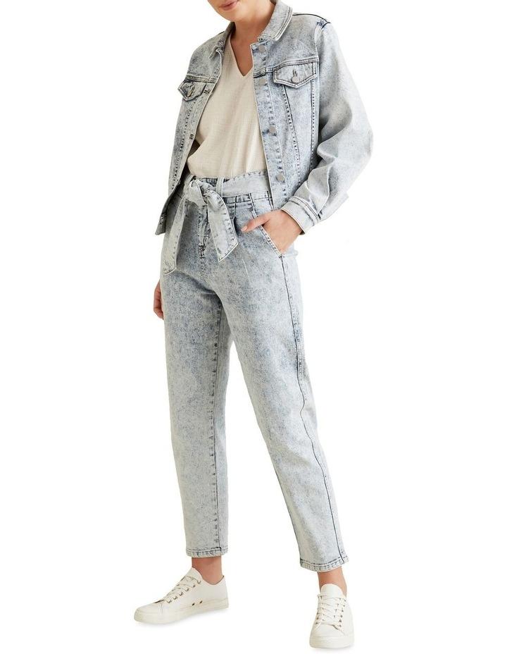 Oversized Sleeve Denim Jacket image 2
