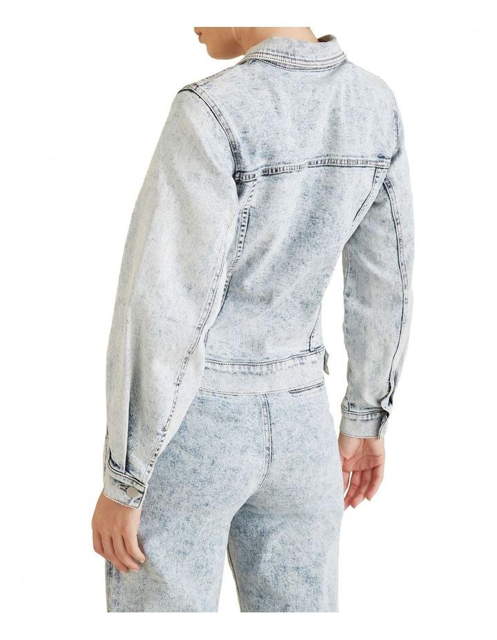 Oversized Sleeve Denim Jacket image 3