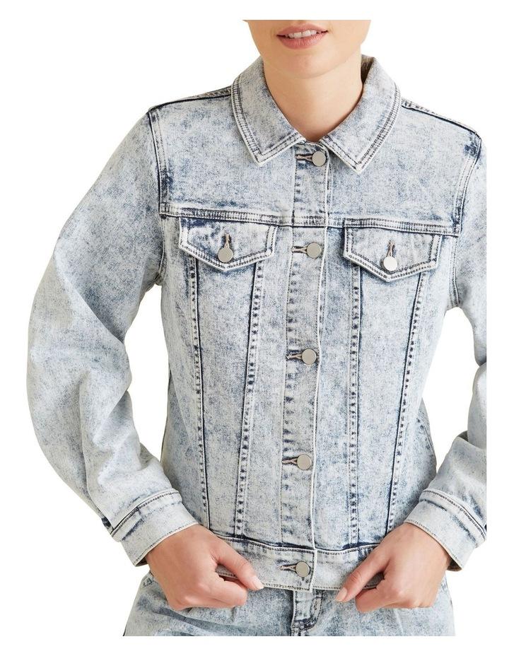 Oversized Sleeve Denim Jacket image 4