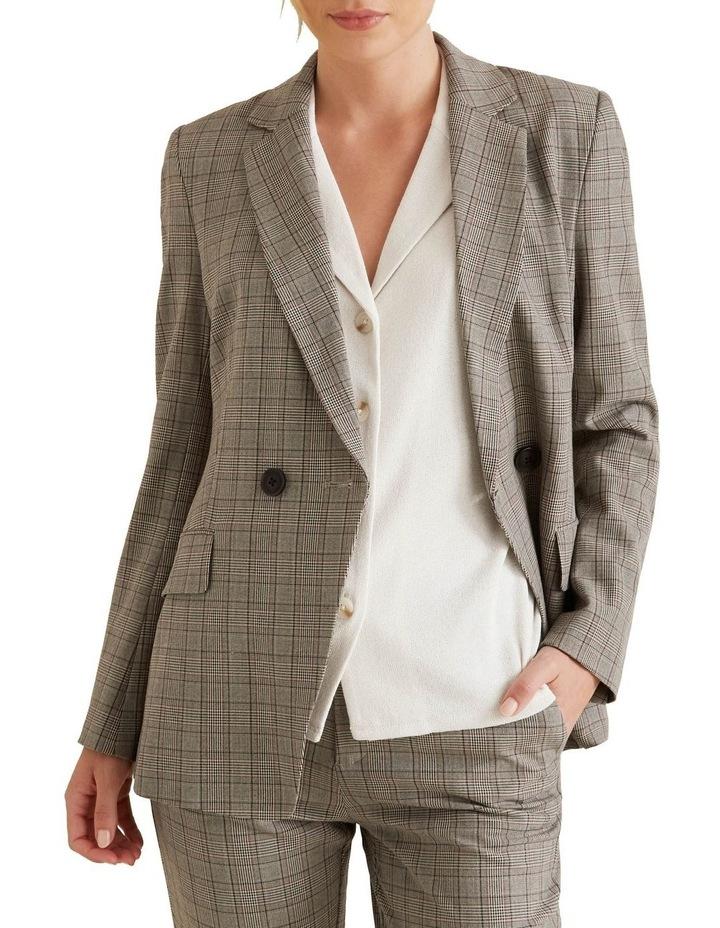 Tailored Check Blazer image 1