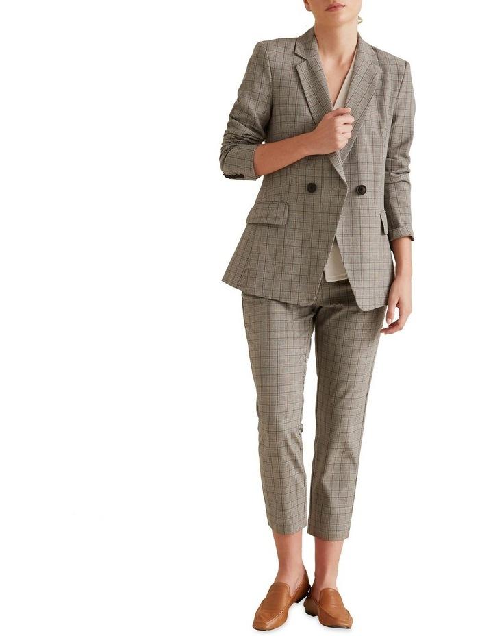 Tailored Check Blazer image 2