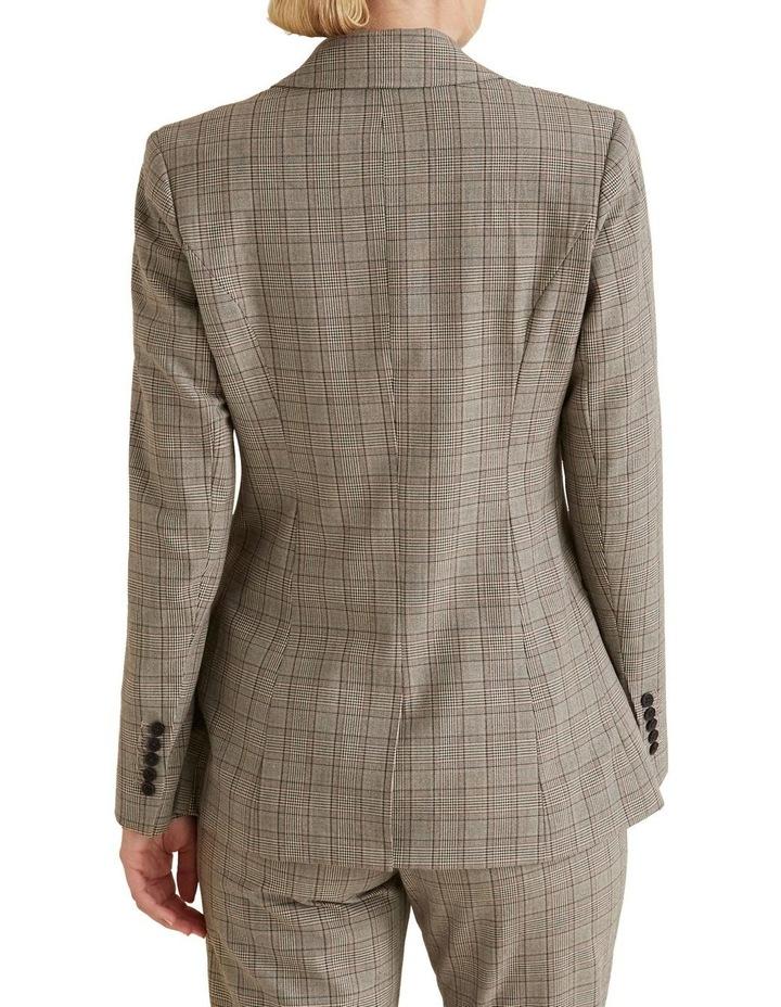Tailored Check Blazer image 3