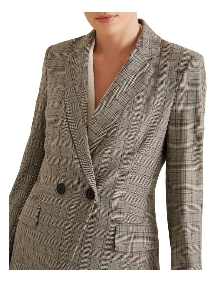 Tailored Check Blazer image 4