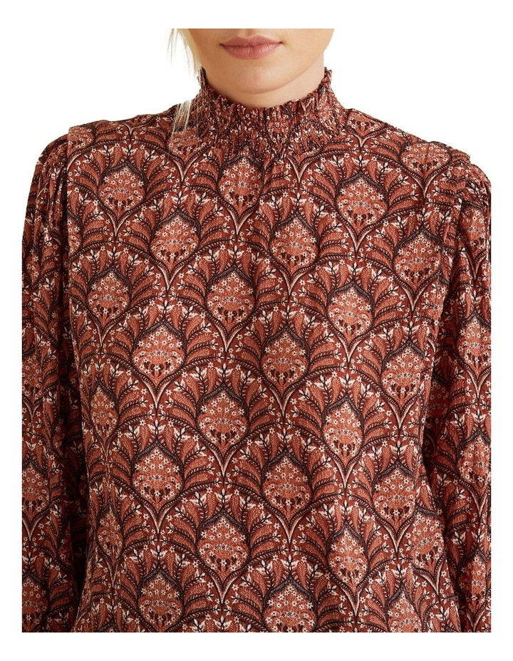 Paisley Shirred Blouse image 4