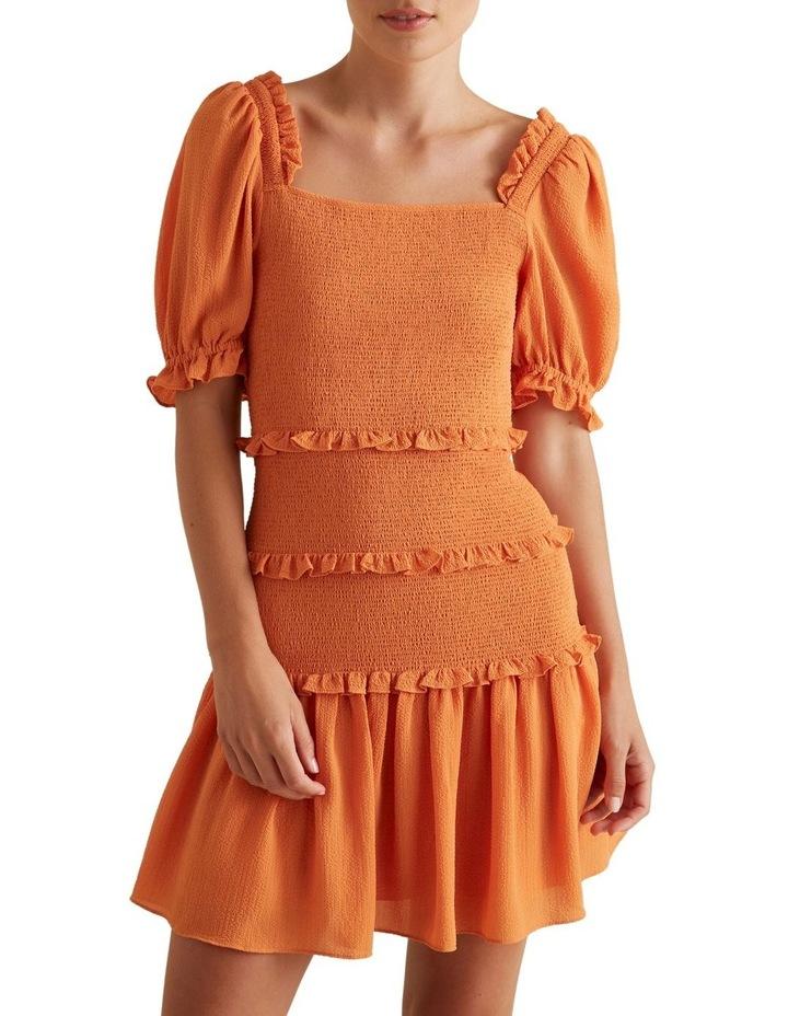 Shirred Mini Dress image 1