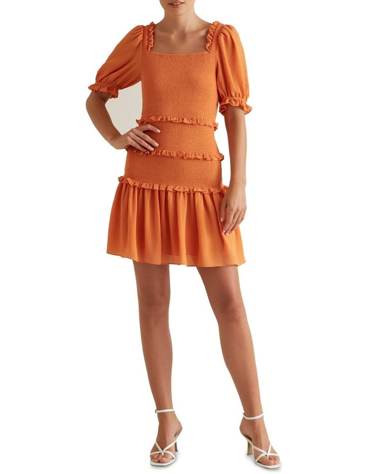 Shirred Mini Dress image 2