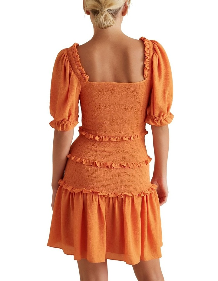 Shirred Mini Dress image 3