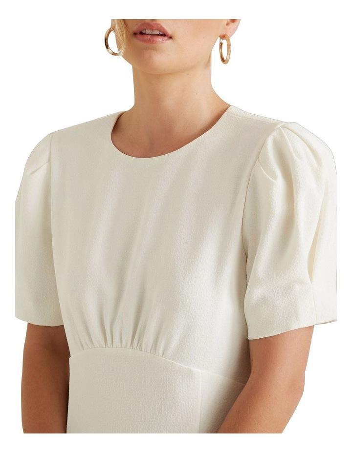 Puff Sleeve Dress image 4