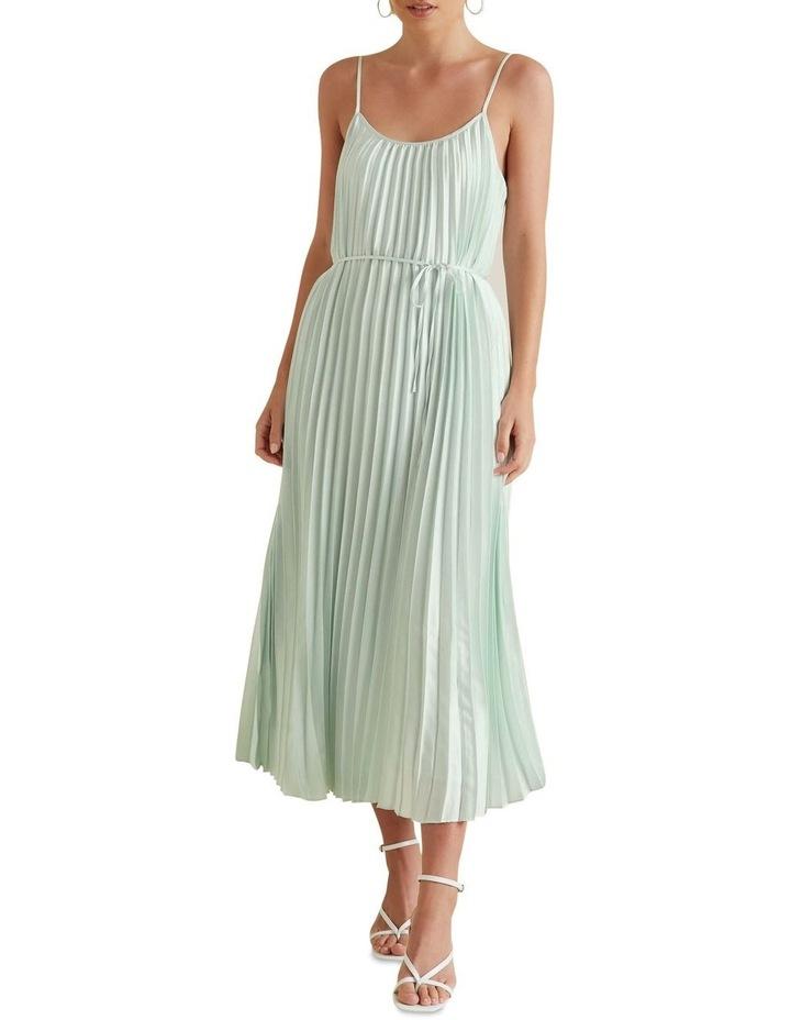 Pleated Maxi Dress image 1