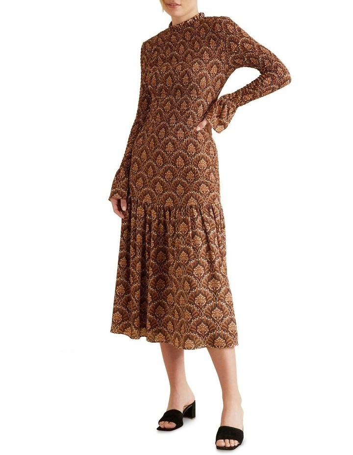 Shirred Maxi Dress image 2