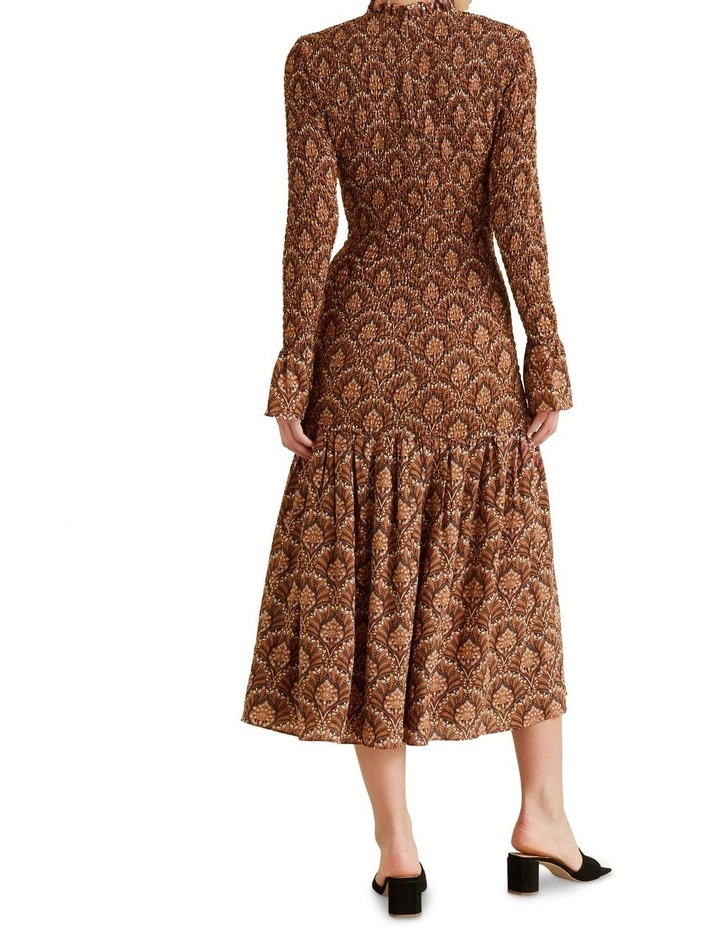 Shirred Maxi Dress image 3
