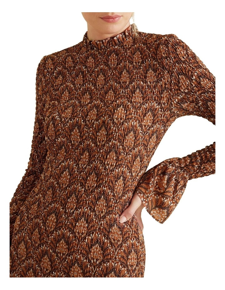 Shirred Maxi Dress image 4