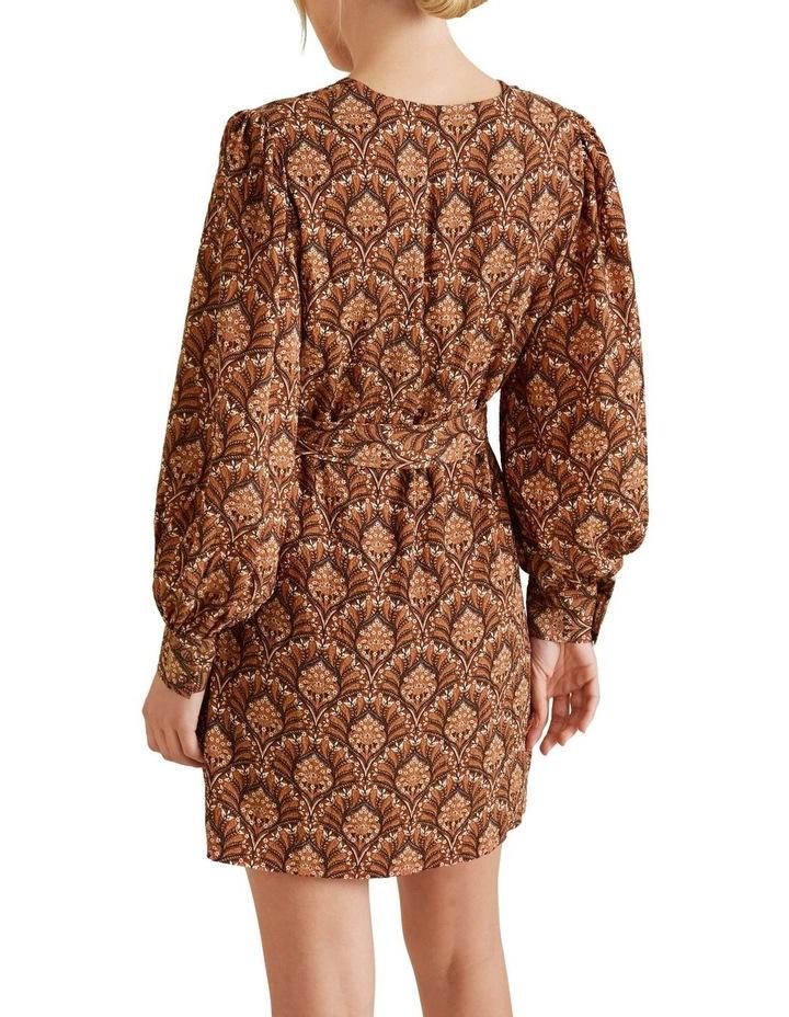 Paisley Mini Dress image 3