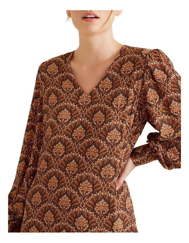 Paisley Mini Dress image 4