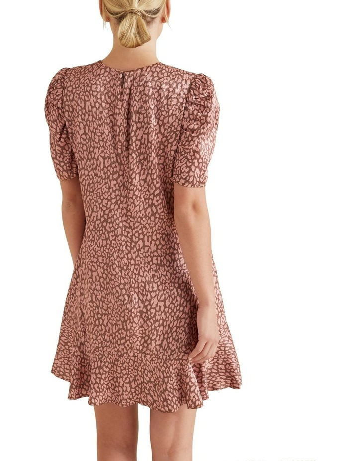 Printed Mini Dress image 3