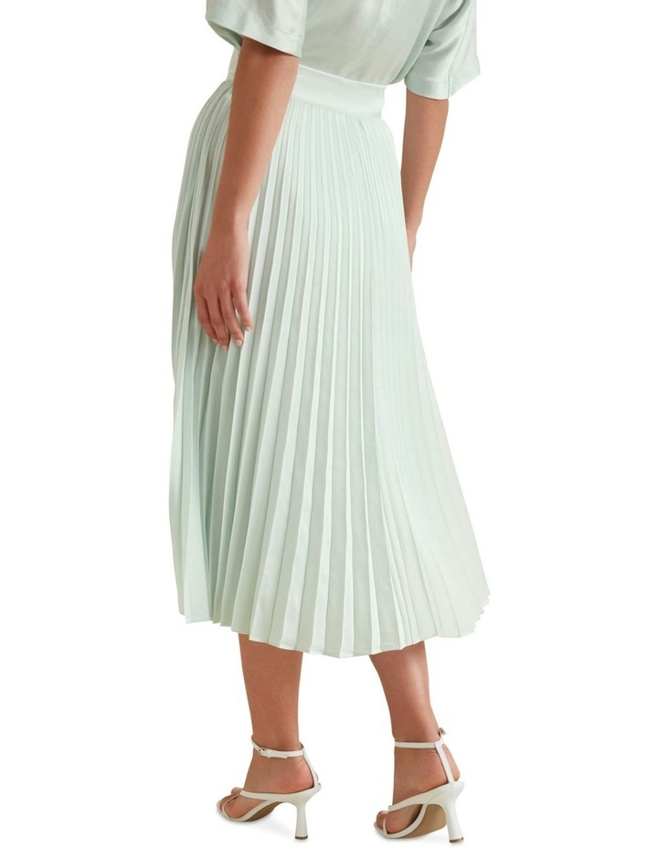 Textured Pleat Skirt image 3