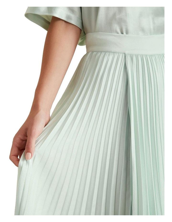 Textured Pleat Skirt image 4