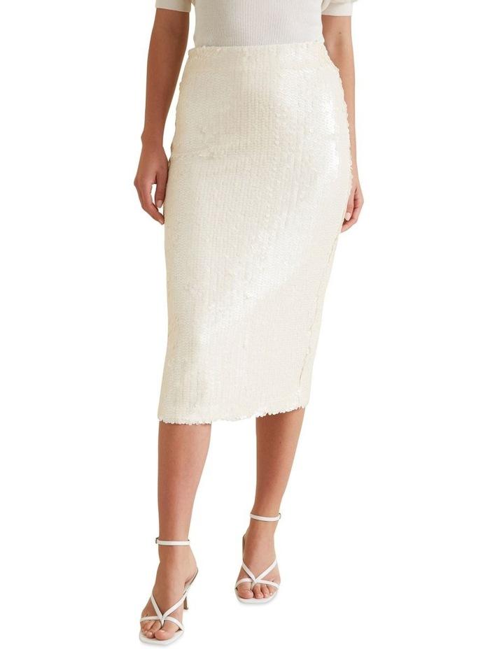 Sequin Midi Skirt image 1
