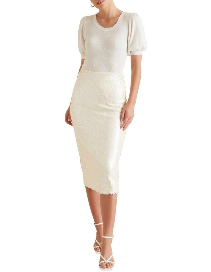 Sequin Midi Skirt image 2