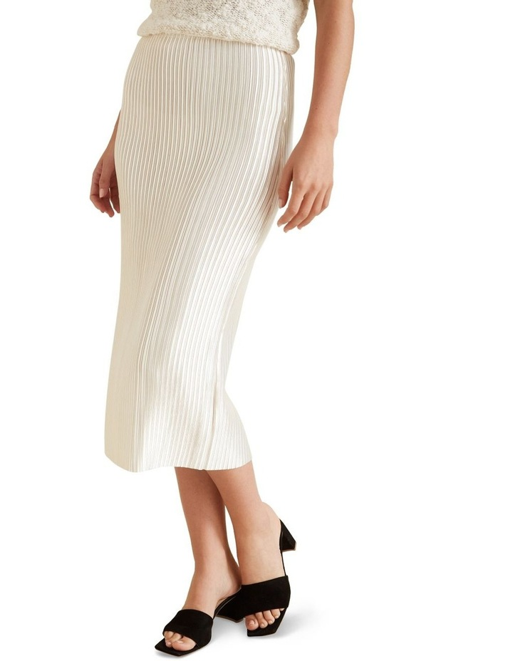 Pleated Column Skirt image 1