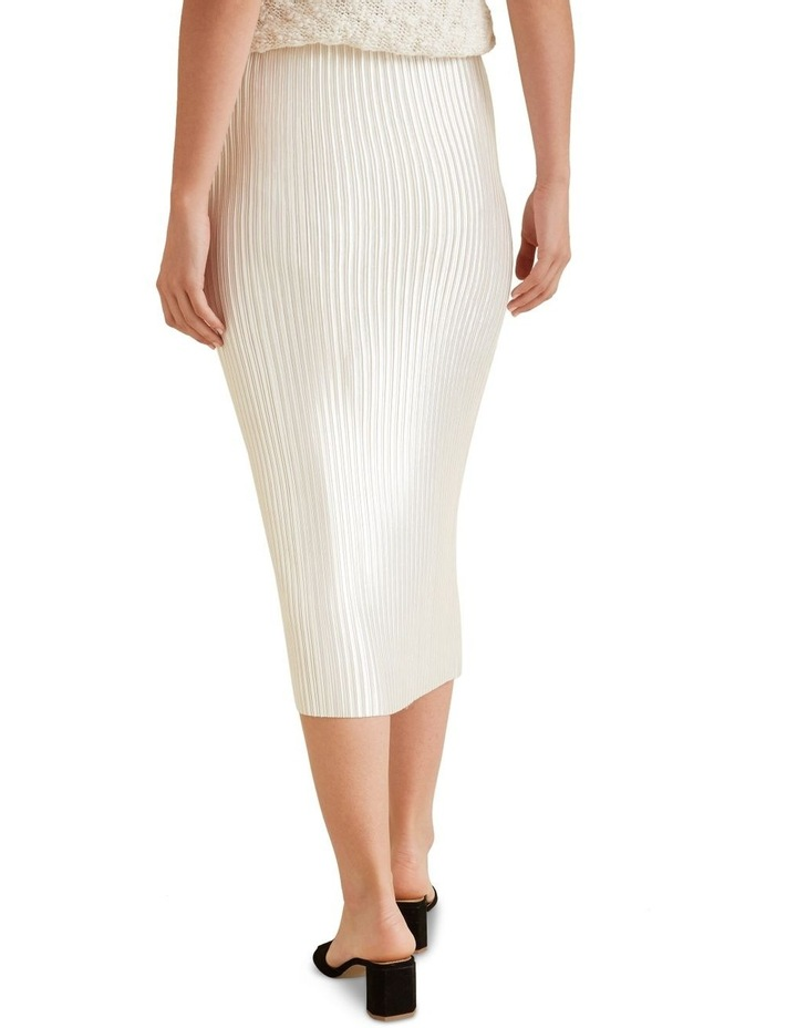 Pleated Column Skirt image 3