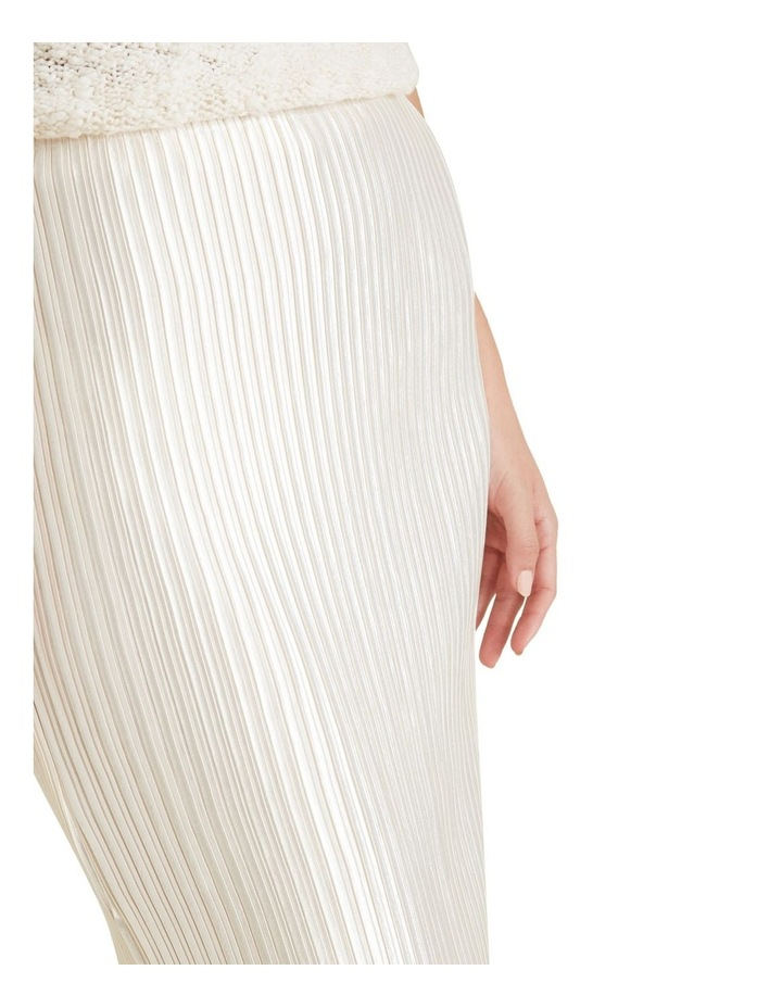 Pleated Column Skirt image 4