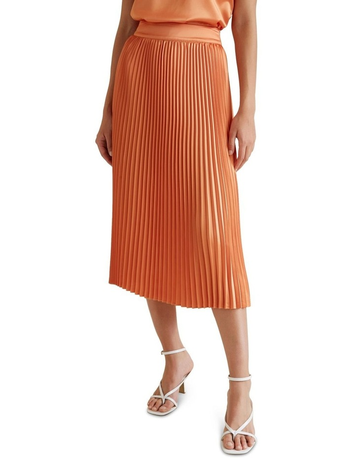 Pleat Midi Skirt image 1