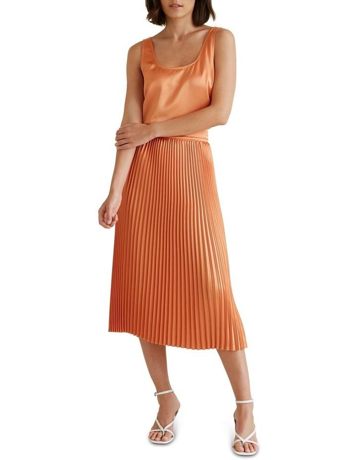 Pleat Midi Skirt image 2