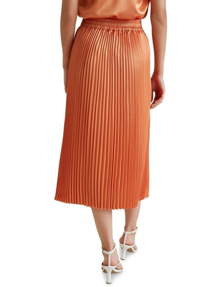 Pleat Midi Skirt image 3