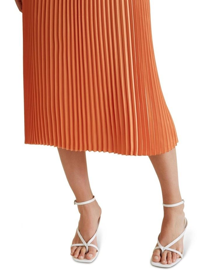 Pleat Midi Skirt image 4