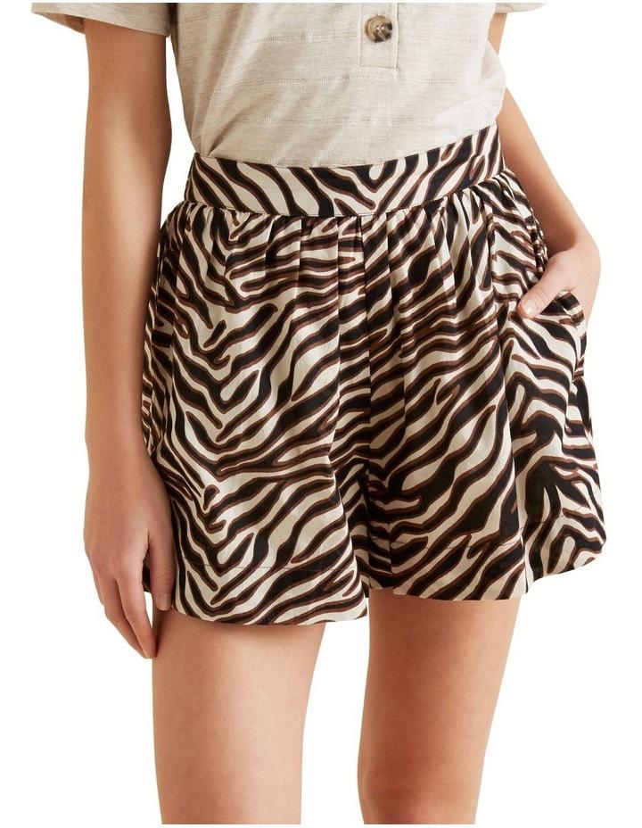 Zebra Print Short image 4