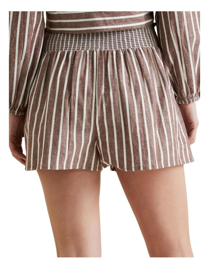 Shirred Stripe Short image 3