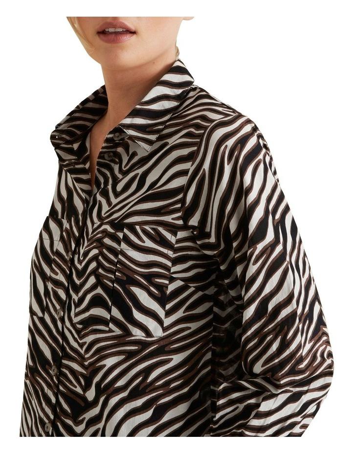 Zebra Voile Shirt image 4