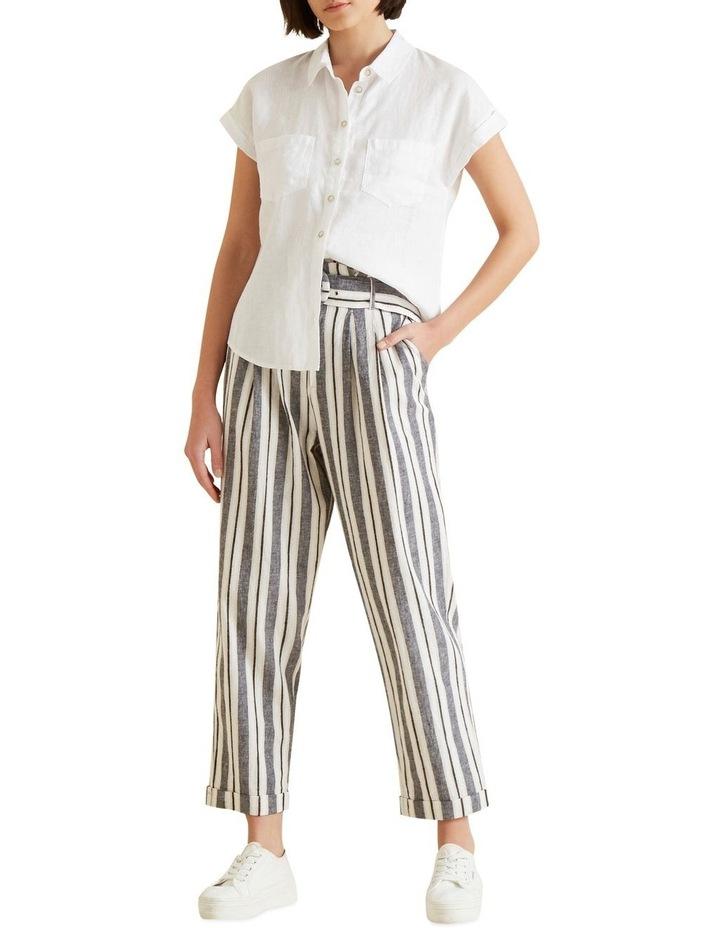 Short Sleeve Linen Shirt image 2