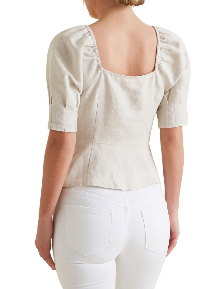 Fitted Puff Sleeve Blouse image 3